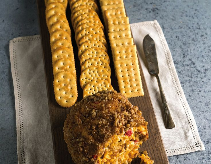Pimiento Cheese Ball Tray - Newk's Eatery - Best Soups, Sandwich Menu, Salad Menu, Pizza, Office Catering