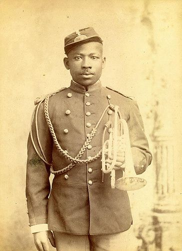 Buffalo Soldier Bugler by Black History Album, via Flickr Black History Month