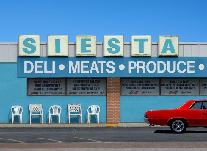 Siesta, The Mother Road photo series by Hayley Eichenbaum.