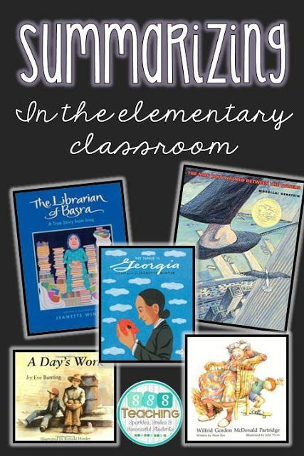 Classroom Activities Elementary ~ Best images about retelling and summarizing activities