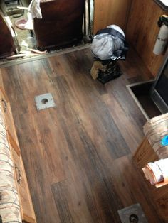 DIY RV Camper Floor Upgrades For Less Than 50 Some