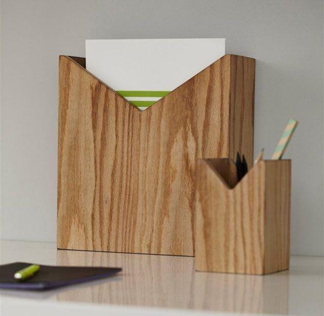 Etageres Porte Documents Organisateurs Design Bois Ampm Table Ampm Table Blog Deco Petit Meuble Rangement