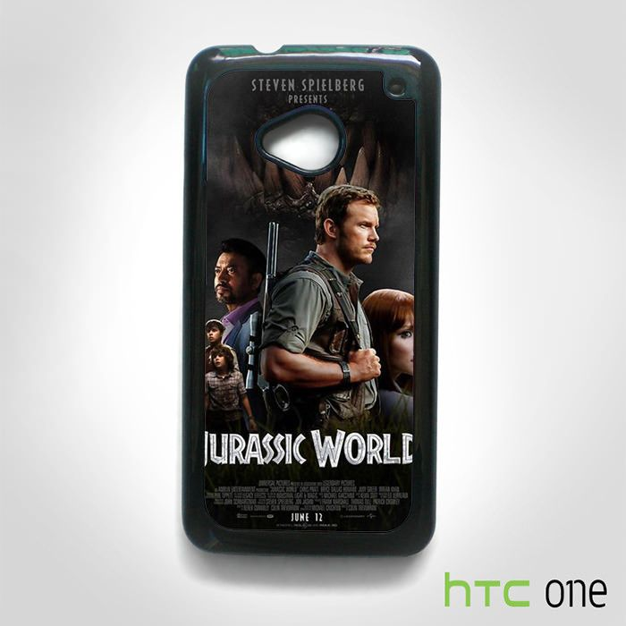 Jurassic World Poster for HTC One M7/M8/M9 phonecases
