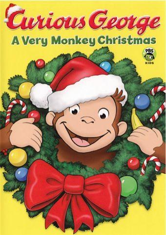 Curious George ~ A Very Monkey Christmas DVD Sale: $4.99! @Marisa Pennington Foster #bemorefestive