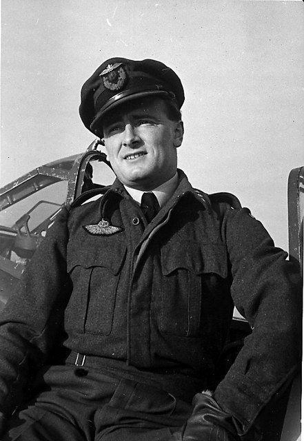 Spitfire pilot Rolf Arne Berg, 331 Squadron.