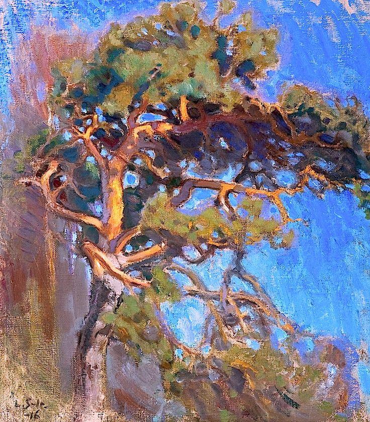 "bofransson:    Lennart Segerstråle 1892-1975 ""Big Fir-Tree"""