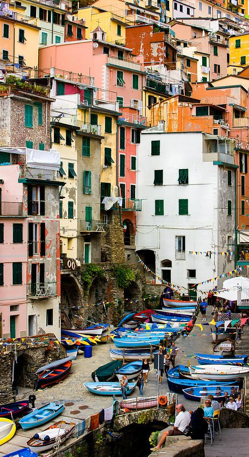 My kids may have talked me into this!  Riomaggiore - Cinque Terre Italy #Skinapalooza