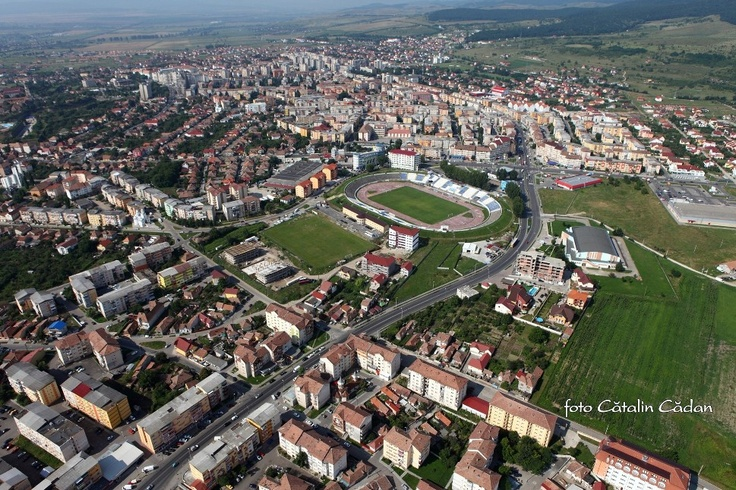 Alba Iulia by air