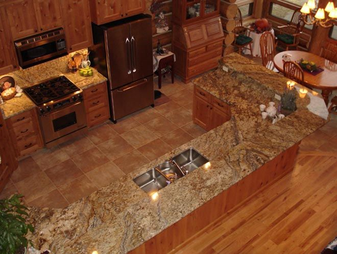 22 best images about granite ideas on pinterest dark for Kitchen granite countertops colors