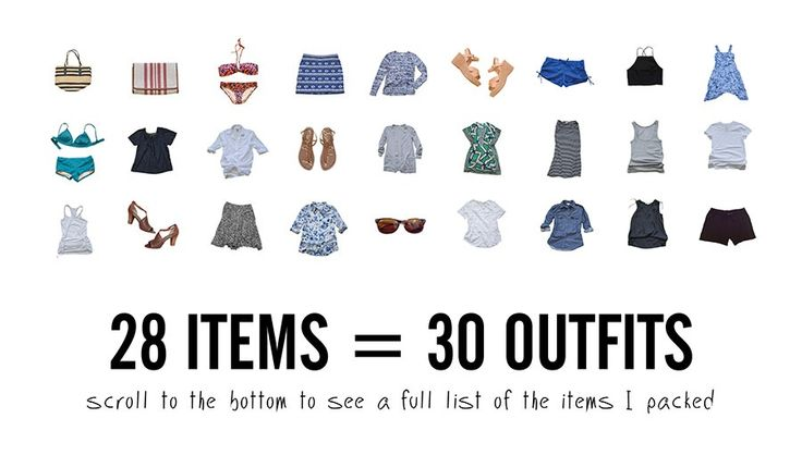 Fit 30 Outfits in Your Carry-On: The Tools & Techniques You Need to Fit It All #packing #traveltips