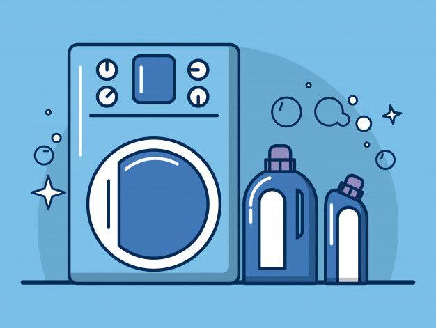 Iconos De Herramientas Y Productos De Limpieza En 2020 Botellas