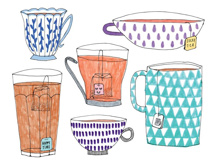 Made by Marianne Lock / Tea Time Illustration