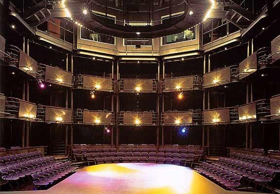 Telus Studio Theatre, Chan Centre for the Performing Arts, University of British Columbia, Canada