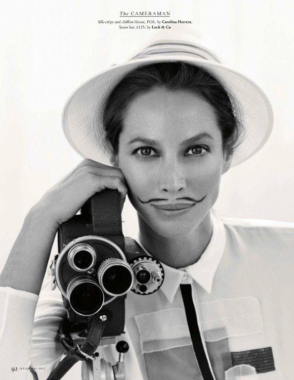 MASTER Christy Turlington by MASTER Arthur Elgort #masterandmuse #ambervalletta #yoox