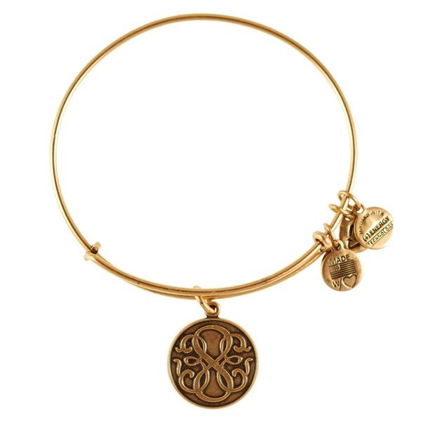 Path of Life Expandable Wire Bangle - Russian Gold