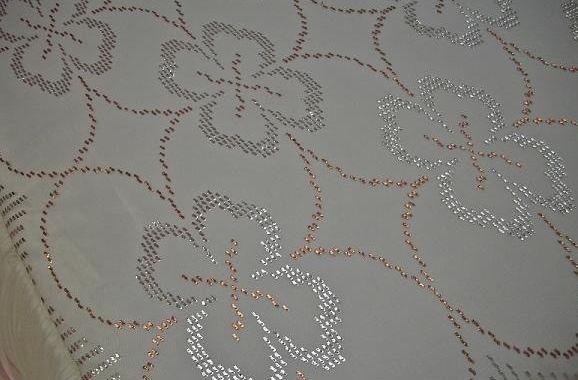 çiçek desenli tel kırma bohça modeli