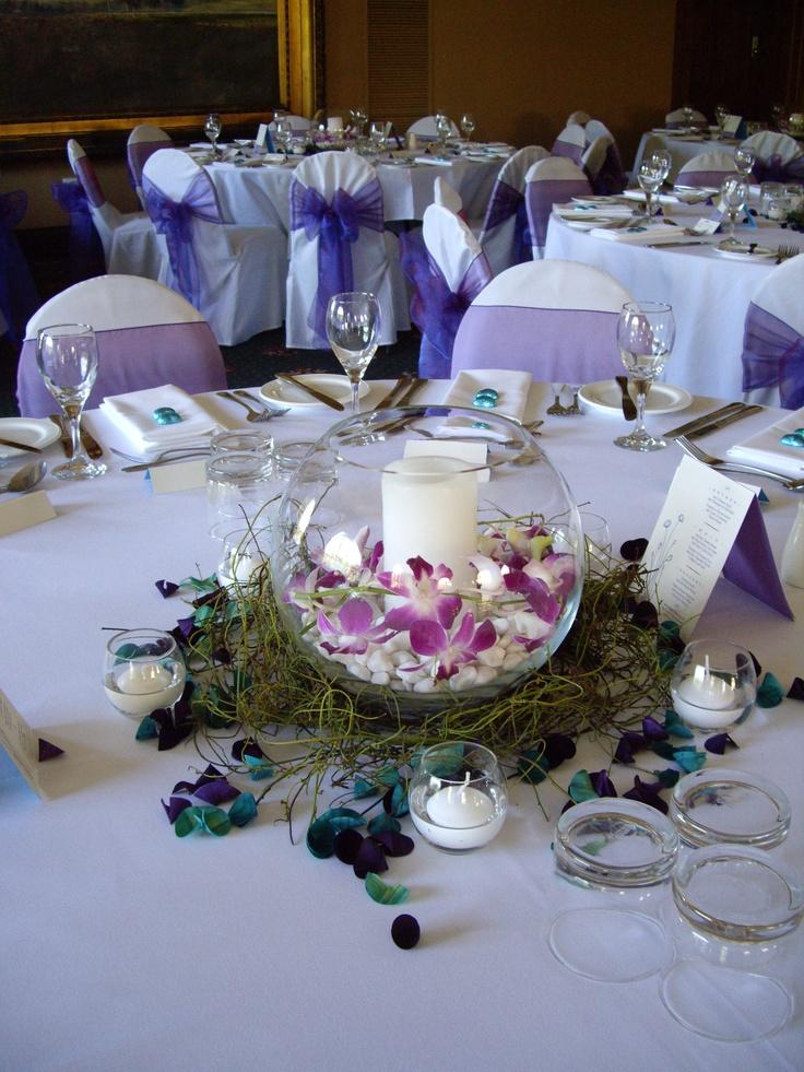 #weddingcentrepiece #fishbowlvase