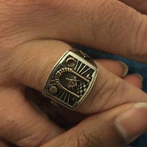Wedding Style Masonic Ring   Masonic   Rings, Masonic