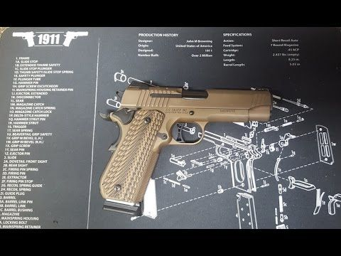 @jsellout New Sig Sauer 1911 Emperor Scorpion Fastback review