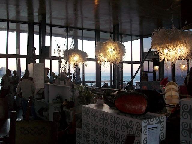 inside moyo uShaka Pier -- photo by Jenna Finch