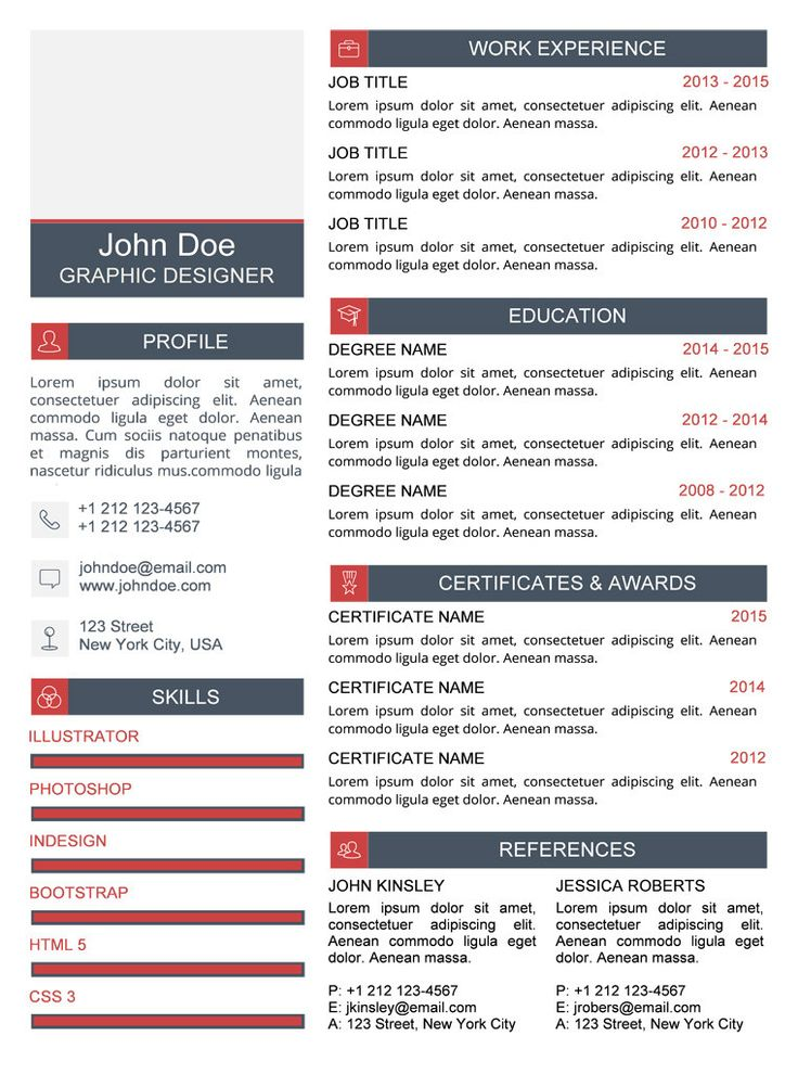 44 best Microsoft Word Creative Resume Templates images on - buy resume templates