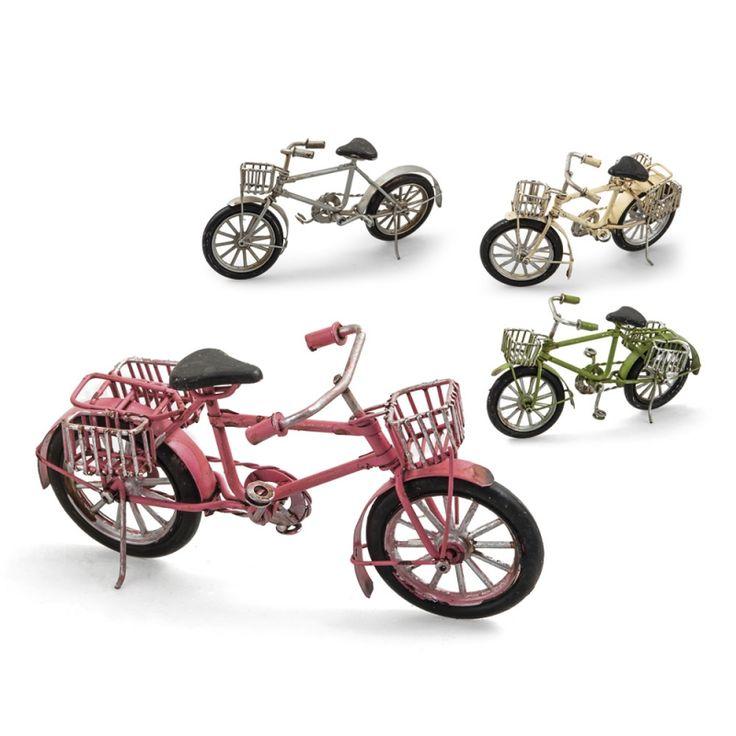 Ποδήλατα για μπομπονιέρα βάπτισης αγοριού με vintage στιλ.