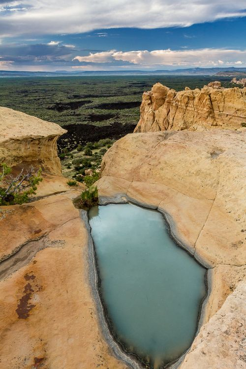 El Malpais National Monument, New Mexico (by syabek) Vacation Rental in Santa Fe, NM https://www.airbnb.com/rooms/2562597