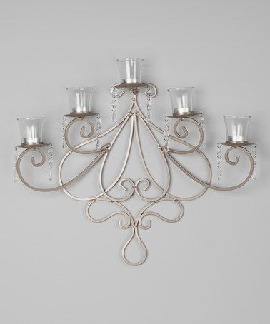 Isadora Dangle Tea Light Wall Sconce #zulilyfinds & 19 best Sconce ideas images on Pinterest | Tea lights Wall ... azcodes.com