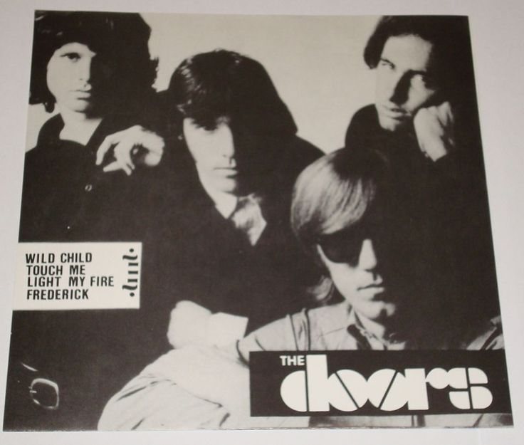 The Doors Live From Your Own TV in Mono #thedoors #single #vinyl