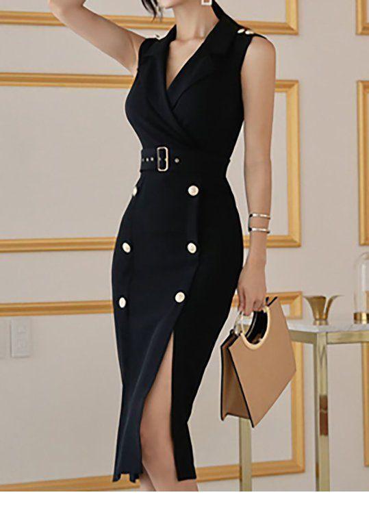 I need a blazer dress like this on black - StepUpLadies.net