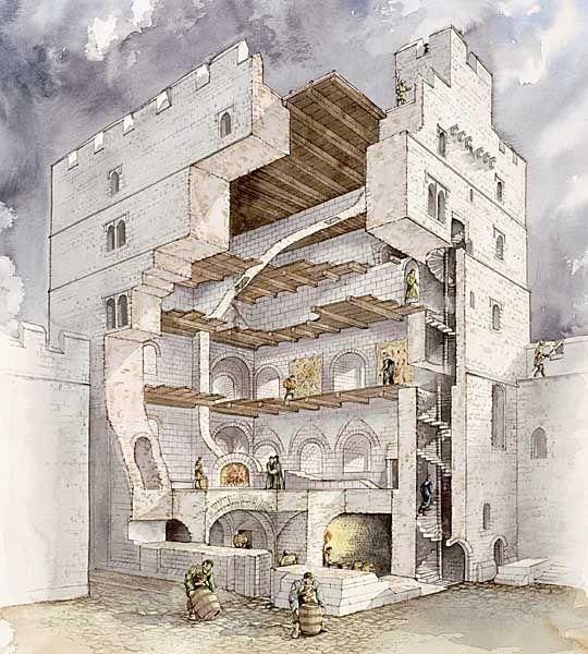 15 best images about norham castle on pinterest for Castle house plans with towers