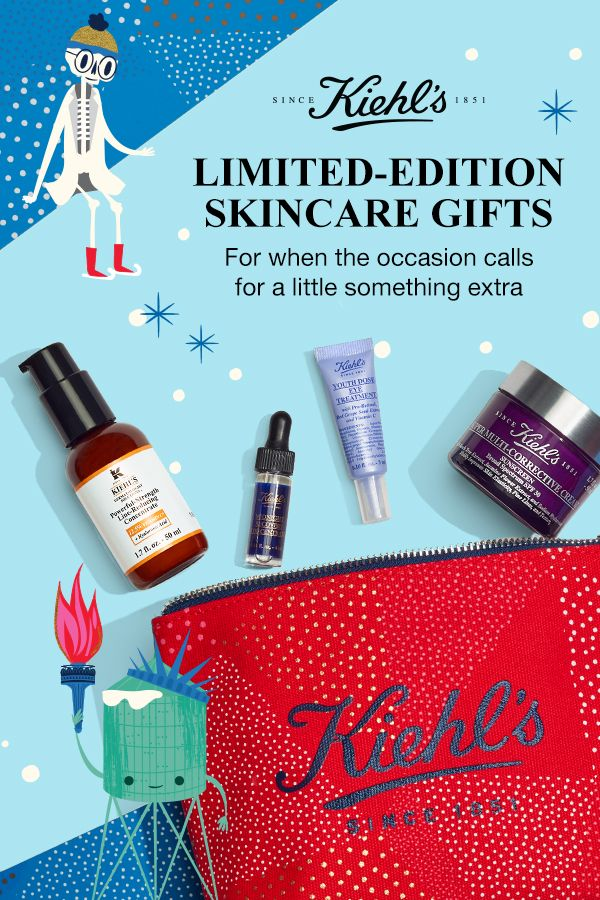 Save Now! Kiehl's Halloween Only Now. None Coupon Code. Up to 53% off Holiday Value Sets