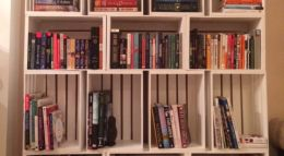 Storage Made Simple: DIY Wooden Crate Bookshelf