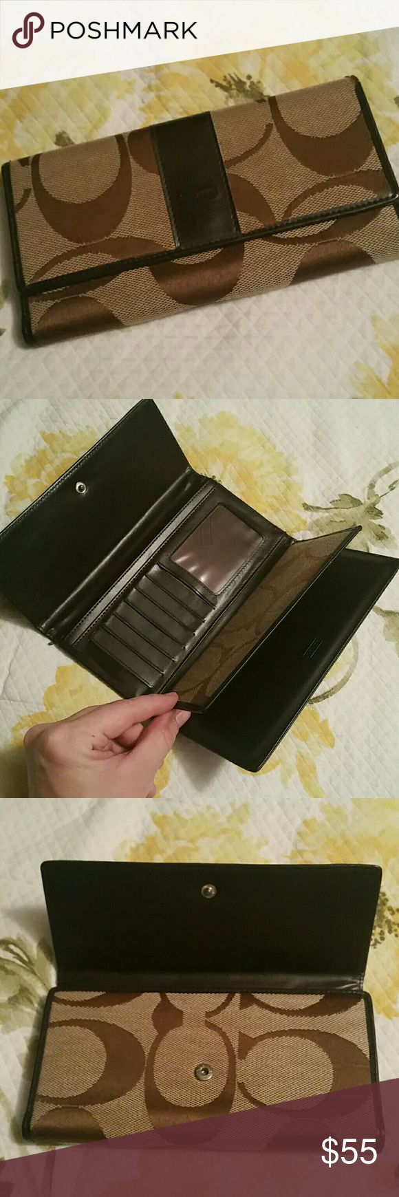 Coach wallet Coach wallet without tags Coach Bags Wallets
