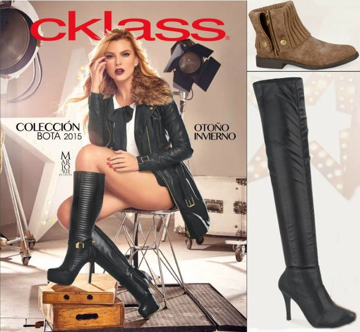 Botas Cklass 2015 catalogo de Otoño Invierno