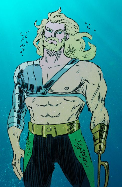 90′s Aquaman - Becker