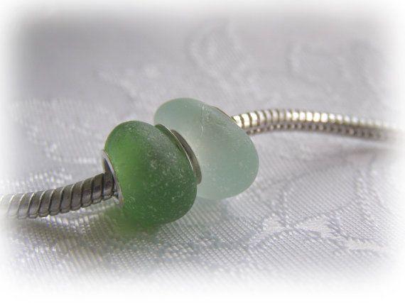 Beach Glass Beads