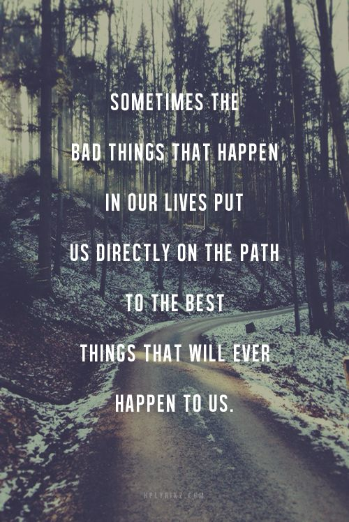 Stay on the path, it gets better ...