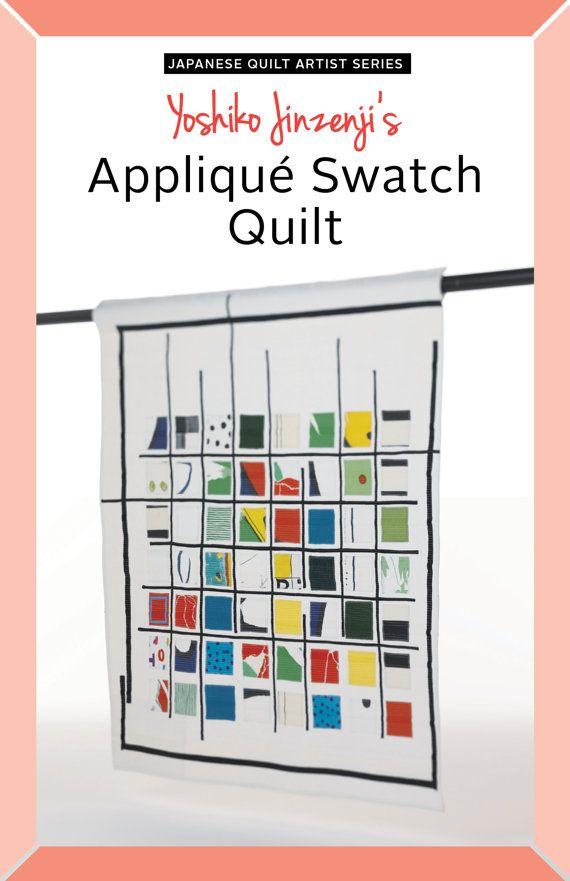 Abstract, veelkleurige opgestikte vierkante motieven zijn verenigd door stevige zwarte lijnen van ongelijke lengte. Dit is een moderne, grafische quilt-ontwerp.  Voltooide grootte: 43 1/4 x 47 1/4 (110 x 120 cm)  Dit patroon werd het voorheen gepubliceerd in het boek quilten lijn + kleur door Yoshiko Jinzenji.  Omvat: • 8 paginas tellend boekje met stapsgewijze instructies  Over de auteur: Yoshiko Jinzenji is een internationaal bekende kunstenaar beschouwd als een van de top beïnvlo...