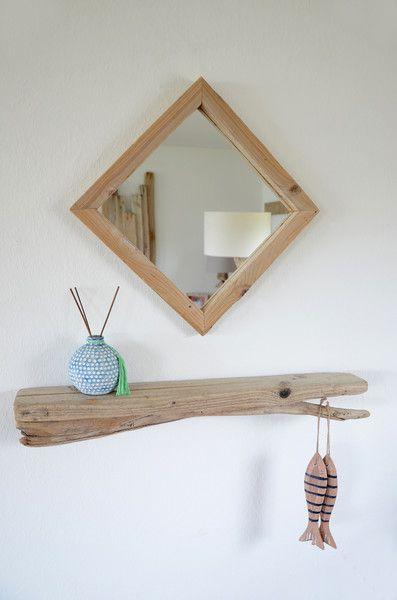 ber ideen zu treibholz spiegel auf pinterest treibholz kerzenhalter und kerzen. Black Bedroom Furniture Sets. Home Design Ideas