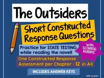 the outsiders response to literature essay Response to literature genre responses to literature are a form of writing in which the writer examines the theme, plot, character, or other aspects of a chapter, story, book, or poem in this genre's purest form, a writer makes a claim or reacts to an author's main point.