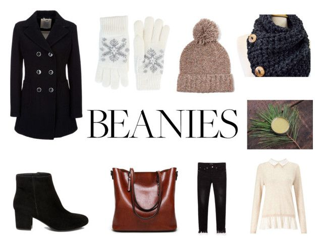 """Hat Head: Pom Pom Beanies"" by gothicvamperstein on Polyvore featuring J.Crew, Miss Selfridge, Steve Madden, Fits, Geox and pompombeanies"