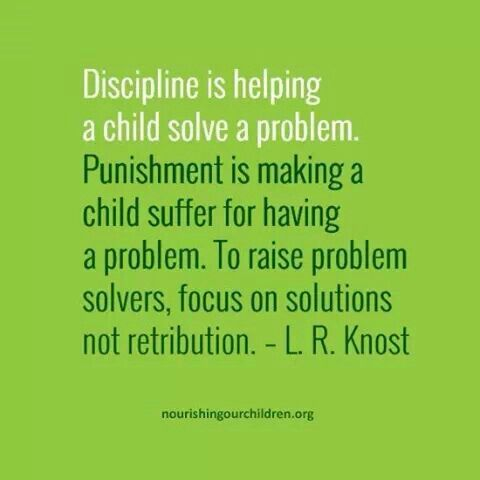 Discipline VS Punishment