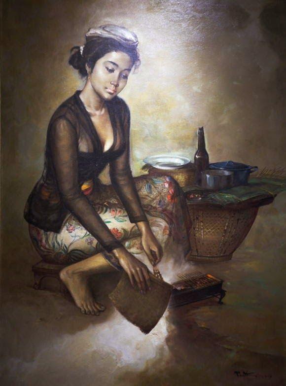 Rustamadji - Wanita Penjual Sate