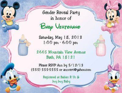 best 25+ gender reveal party supplies ideas on pinterest | joy, Baby shower invitations