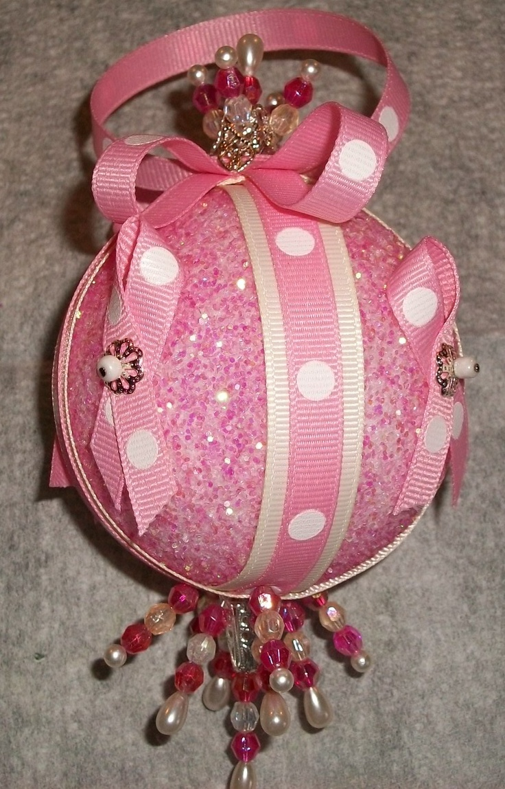 Breast cancer ornament - Diy Breast Cancer Friends And Family Ornament Just In Time For Christmas