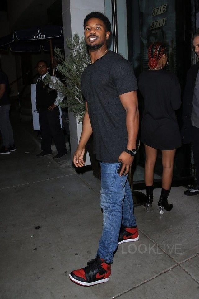 9 best Michael B. Jordan Fashion Style images on Pinterest | Jordan sneakers Jordans and ...