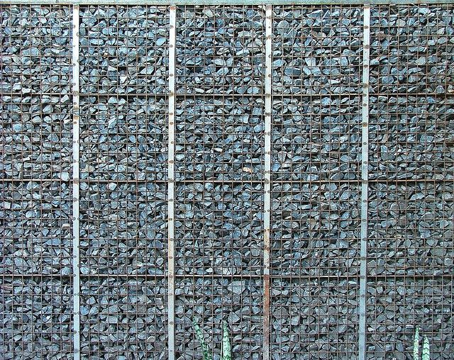 gabion wall gabion wall flickr photo sharing. Black Bedroom Furniture Sets. Home Design Ideas