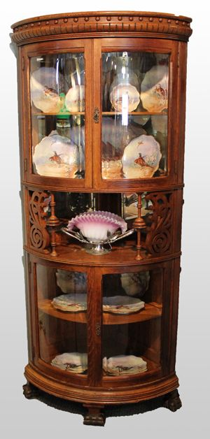 35 Best Images About Vintage China Cabinets On Pinterest