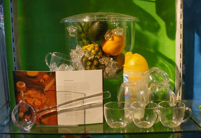 Dry food styling to bring to life the elements of a punch recipe featured in book. Display and Image by Patricia Denis